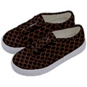 SCALES1 BLACK MARBLE & RUSTED METAL (R) Kids  Classic Low Top Sneakers View2