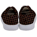 SCALES1 BLACK MARBLE & RUSTED METAL (R) Kids  Classic Low Top Sneakers View4
