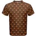 SCALES2 BLACK MARBLE & RUSTED METAL Men s Cotton Tee View1