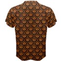 SCALES2 BLACK MARBLE & RUSTED METAL Men s Cotton Tee View2