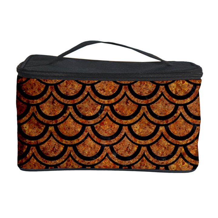 SCALES2 BLACK MARBLE & RUSTED METAL Cosmetic Storage Case