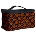 SCALES2 BLACK MARBLE & RUSTED METAL Cosmetic Storage Case View2