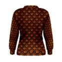 SCALES2 BLACK MARBLE & RUSTED METAL Women s Sweatshirt View2