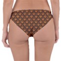 SCALES2 BLACK MARBLE & RUSTED METAL Reversible Hipster Bikini Bottoms View2