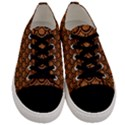 SCALES2 BLACK MARBLE & RUSTED METAL Men s Low Top Canvas Sneakers View1