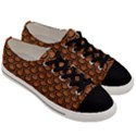SCALES2 BLACK MARBLE & RUSTED METAL Men s Low Top Canvas Sneakers View3