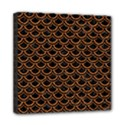 SCALES2 BLACK MARBLE & RUSTED METAL (R) Mini Canvas 8  x 8  View1