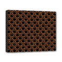 SCALES2 BLACK MARBLE & RUSTED METAL (R) Canvas 10  x 8  View1