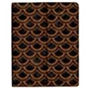 SCALES2 BLACK MARBLE & RUSTED METAL (R) Apple iPad 3/4 Flip Case View1