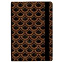 SCALES2 BLACK MARBLE & RUSTED METAL (R) iPad Mini 2 Flip Cases View2