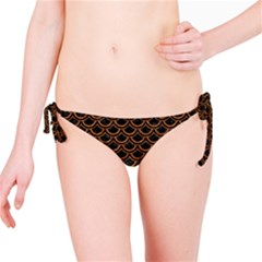 Scales2 Black Marble & Rusted Metal (r) Bikini Bottom