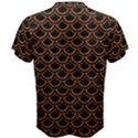 SCALES2 BLACK MARBLE & RUSTED METAL (R) Men s Cotton Tee View2