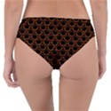 SCALES2 BLACK MARBLE & RUSTED METAL (R) Reversible Classic Bikini Bottoms View2