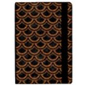 SCALES2 BLACK MARBLE & RUSTED METAL (R) Apple iPad Pro 12.9   Flip Case View2