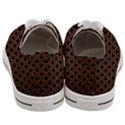 SCALES2 BLACK MARBLE & RUSTED METAL (R) Women s Low Top Canvas Sneakers View4