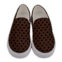 SCALES2 BLACK MARBLE & RUSTED METAL (R) Women s Canvas Slip Ons View1