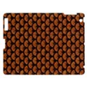 SCALES3 BLACK MARBLE & RUSTED METAL Apple iPad 3/4 Hardshell Case View1