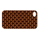 SCALES3 BLACK MARBLE & RUSTED METAL Apple iPhone 4/4S Premium Hardshell Case View1