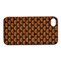 SCALES3 BLACK MARBLE & RUSTED METAL Apple iPhone 4/4S Hardshell Case with Stand View1