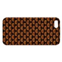 SCALES3 BLACK MARBLE & RUSTED METAL Apple iPhone 5 Premium Hardshell Case View1