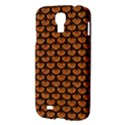 SCALES3 BLACK MARBLE & RUSTED METAL Samsung Galaxy S4 I9500/I9505 Hardshell Case View3