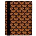 SCALES3 BLACK MARBLE & RUSTED METAL Samsung Galaxy Tab 10.1  P7500 Flip Case View2