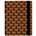 SCALES3 BLACK MARBLE & RUSTED METAL Samsung Galaxy Tab 10.1  P7500 Flip Case View3