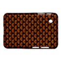 SCALES3 BLACK MARBLE & RUSTED METAL Samsung Galaxy Tab 2 (7 ) P3100 Hardshell Case  View1