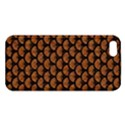 SCALES3 BLACK MARBLE & RUSTED METAL iPhone 5S/ SE Premium Hardshell Case View1
