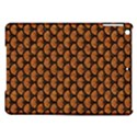 SCALES3 BLACK MARBLE & RUSTED METAL iPad Air Hardshell Cases View1