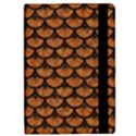SCALES3 BLACK MARBLE & RUSTED METAL iPad Mini 2 Flip Cases View2