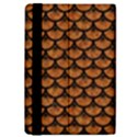 SCALES3 BLACK MARBLE & RUSTED METAL iPad Mini 2 Flip Cases View4