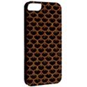 SCALES3 BLACK MARBLE & RUSTED METAL (R) Apple iPhone 5 Classic Hardshell Case View2