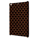 SCALES3 BLACK MARBLE & RUSTED METAL (R) Apple iPad Mini Hardshell Case View3
