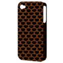 SCALES3 BLACK MARBLE & RUSTED METAL (R) Apple iPhone 4/4S Hardshell Case (PC+Silicone) View3