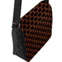 SCALES3 BLACK MARBLE & RUSTED METAL (R) Flap Messenger Bag (L)  View2