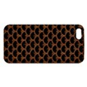 SCALES3 BLACK MARBLE & RUSTED METAL (R) iPhone 5S/ SE Premium Hardshell Case View1