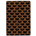 SCALES3 BLACK MARBLE & RUSTED METAL (R) iPad Mini 2 Flip Cases View1