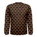 SCALES3 BLACK MARBLE & RUSTED METAL (R) Men s Long Sleeve Tee View2