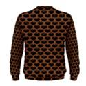 SCALES3 BLACK MARBLE & RUSTED METAL (R) Men s Sweatshirt View2