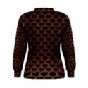 SCALES3 BLACK MARBLE & RUSTED METAL (R) Women s Sweatshirt View2