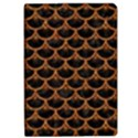 SCALES3 BLACK MARBLE & RUSTED METAL (R) Apple iPad Pro 12.9   Flip Case View1