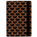 SCALES3 BLACK MARBLE & RUSTED METAL (R) Apple iPad Pro 12.9   Flip Case View2