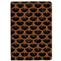 SCALES3 BLACK MARBLE & RUSTED METAL (R) Apple iPad Pro 9.7   Flip Case View1