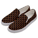 SCALES3 BLACK MARBLE & RUSTED METAL (R) Men s Canvas Slip Ons View2