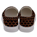 SCALES3 BLACK MARBLE & RUSTED METAL (R) Men s Canvas Slip Ons View4