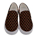 SCALES3 BLACK MARBLE & RUSTED METAL (R) Women s Canvas Slip Ons View1