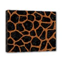 SKIN1 BLACK MARBLE & RUSTED METAL Canvas 10  x 8  View1