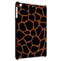 SKIN1 BLACK MARBLE & RUSTED METAL Apple iPad Mini Hardshell Case View2