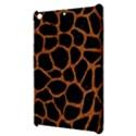 SKIN1 BLACK MARBLE & RUSTED METAL Apple iPad Mini Hardshell Case View3